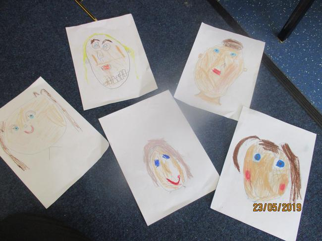 The children worked really carefully.