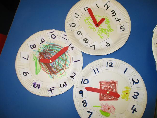 We have been telling the time o'clock