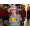 Olivia's winning egg [Nursery]