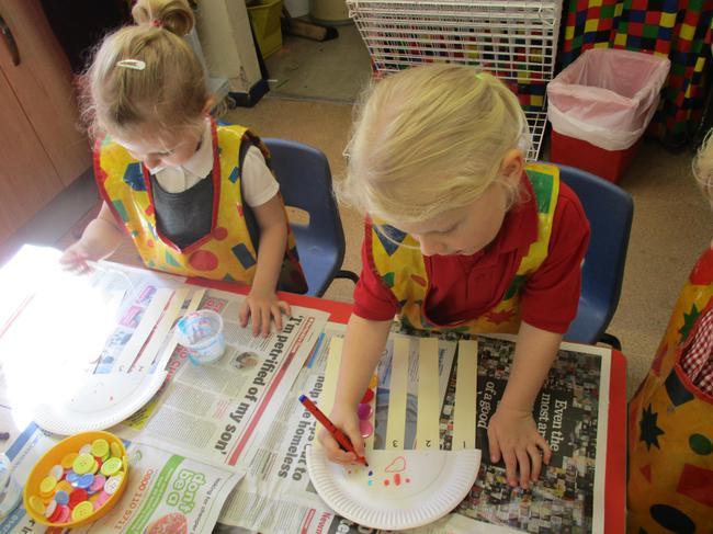 Jelly fish craft - maths activity