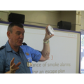 Test your smoke alarm weekly!