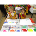 Printing with Numicon!