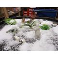 Snow - messy small world