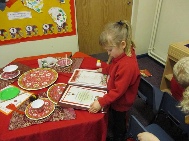 Restaurant role play - reading the menu!