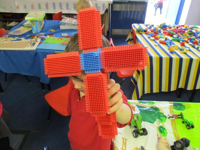 We made windmills.