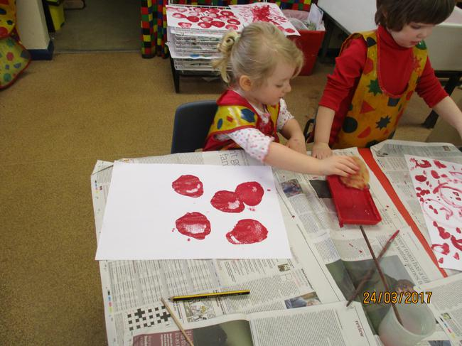 Red Nose Day printing!
