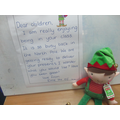 Ernie the elf came to visit!