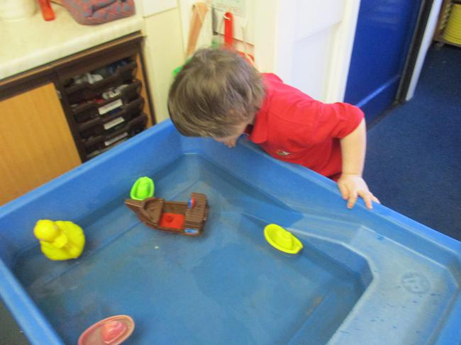 Can you move the boat without touching it?