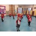 Scarf dancing