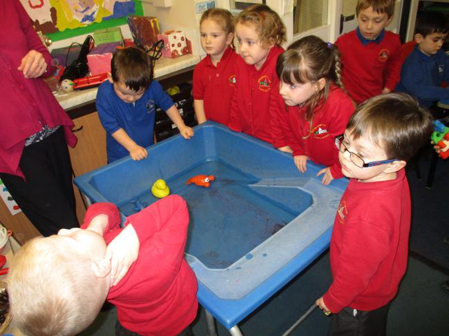 We explored huffing and puffing to make boats move
