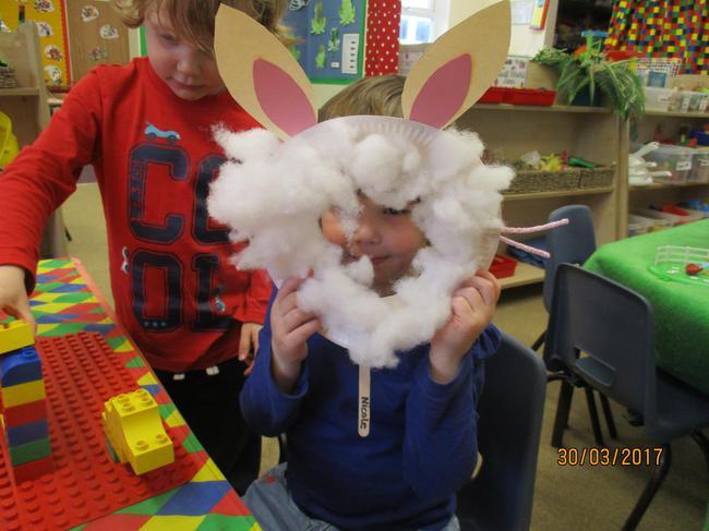 Nicole the Easter Bunny :-)