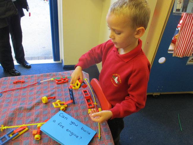 We also made fire engines... just in case!!