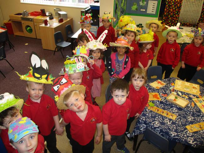 We are ready for our bonnet parade!