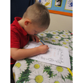Writing a letter to Santa!