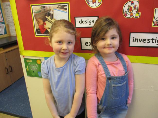 Our competition winners! Well done girls!