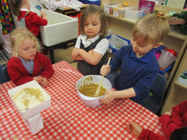 We are making Gingerbread biscuits!