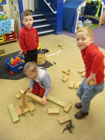 Working together to build!