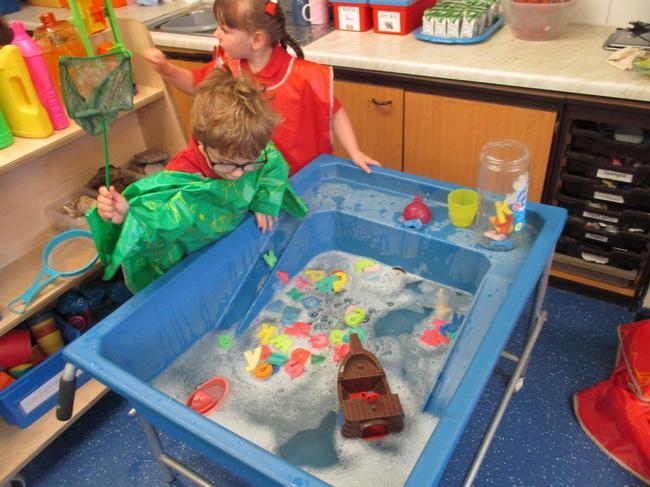 We explored water transport