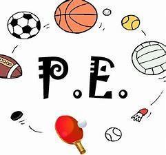 Our P.E days are Tuesdays and Thursdays.