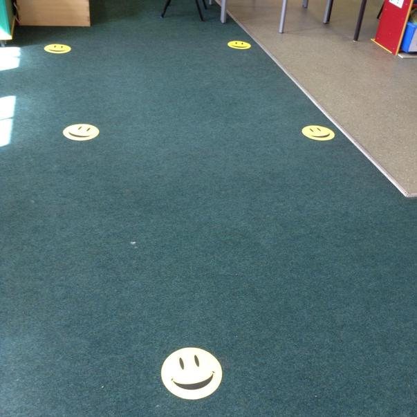 Smiley faces for Yoga and relaxation