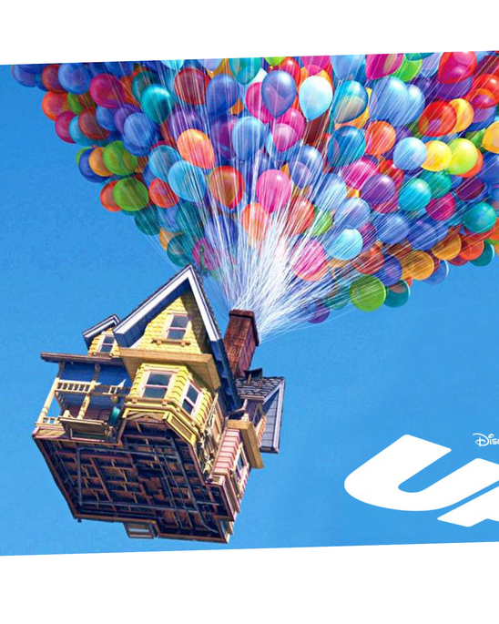 We loved clips from the movie Up !