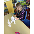 Working on our doodle bunnies!