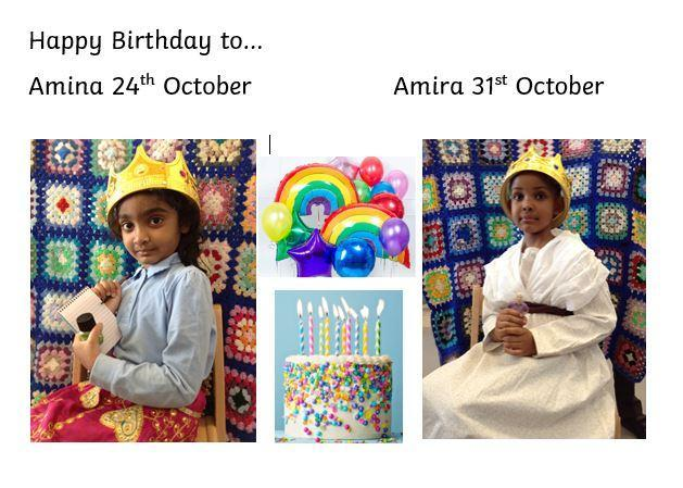 October birthdays!