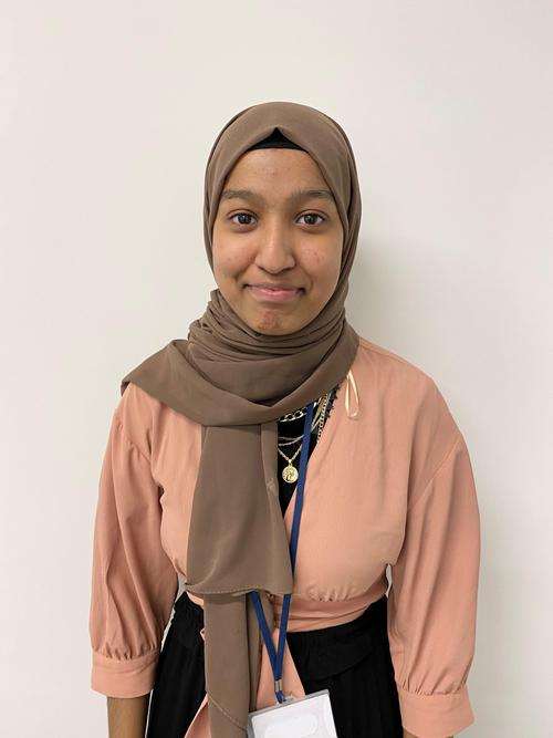 Nadira, Teaching Assistant in Year 2