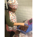 Noora cooking Tiramasu