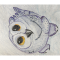 Lily's lovely owl (I want it for the book corner!)