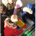 We explored shapes in the ice