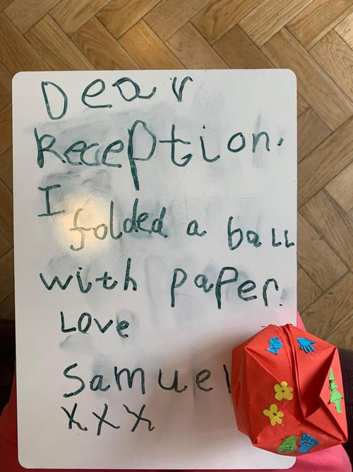 Can you use your phonics to write a message?