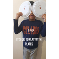 It's OK to play with plates