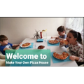 Family restaurant: Make your own pizza house