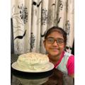 Nuha's vanilla cake