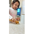 Inaaya Cooking for her restaurant