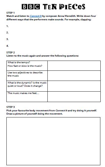 Rhythm Worksheet