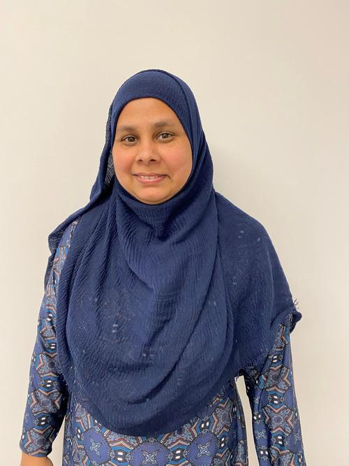 Salma, Teaching Assistant in Year 5