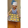 Jaydan's baking