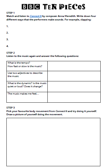 Rhythm Worksheet