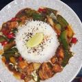 Uzma's beautiful food presentation