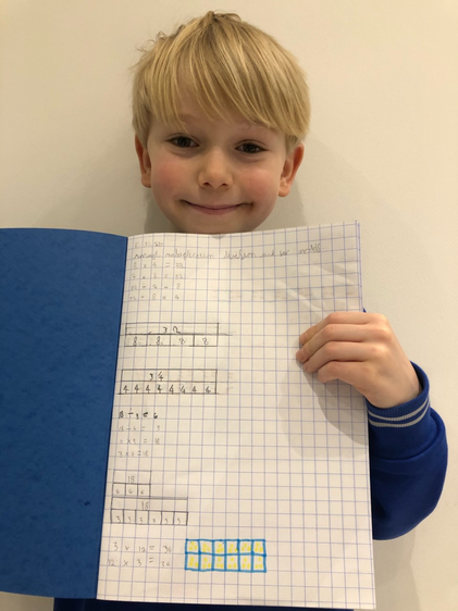 Otto's excellent maths work