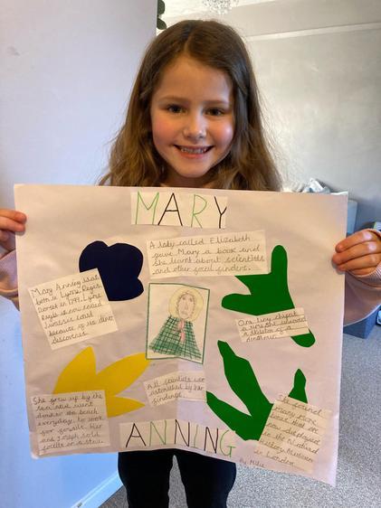 Millie's excellent Homework!