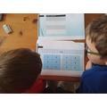 Maths games for Ollie and Oscar