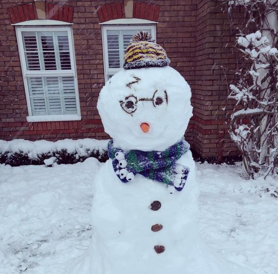 Otto and Family made this jolly chap!
