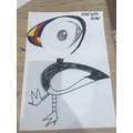 Fantastic puffin drawing!