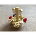 Felix's lego Viking boat