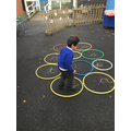 N, showing how well he knows his letter sounds