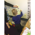 E, finds the total number of birthdays and records
