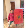 Another fabulous shield! Well done!